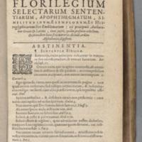 1.3.3.3. Florilèges, lieux communs