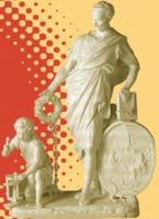 Le pédagogue, monument à Jean-Jacques<br /> Rousseau (18e siècle, modèle réduit<br /> en porcelaine, Sèvres, Cité de la céramique,<br /> photo ©RMN-Grand-Palais, Martine Beck-Coppola)