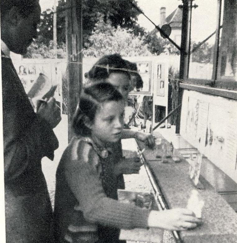 Recherches sur les loisirs culturels des enfants des régions rurales isolées, vers 1950