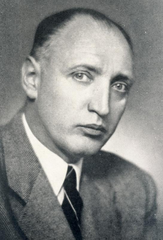 Étienne Berthet dans les années 1950