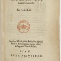 3.7. Joachim du Bellay