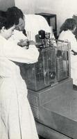 Dénombrement des unités vivantes contenues dans le vaccin BCG, vers 1950