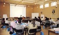 Une séance de formation au CIE vers 1990