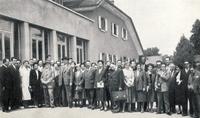Les auditeurs du cours de pédiatrie sociale originaires de 24 pays dans les années 1950