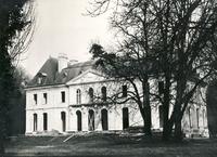 Le château de Longchamp au moment de l'installation du CIE