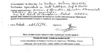 Soutien au CIE en provenance du Maroc, mai 1996