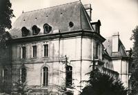 Façade arrière du château de Longchamp