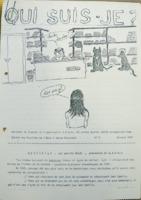 Page de couverture de Qui suis-je ?, bulletin de liaison de l'association Droit des pupilles de l'État à leurs origines, février 1986 (archives de l'association, CNAHES)