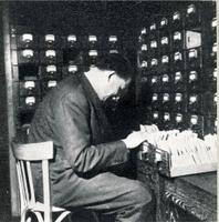 Les fichiers du centre de documentation vers 1950