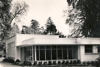Le pavillon d'enseignement dans les années 1960